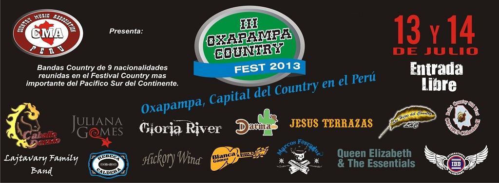 OXAPAMPA COUNTRY FEST
